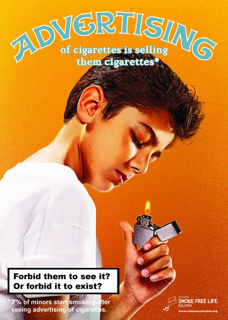 "cigarette ads The text in e-cigarette ads often claim e-cigarettes are safe or ""safer"" than  tobacco use, but these statements are undermined by study after."